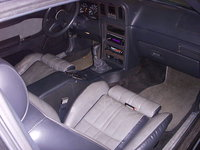 1986 Ford Thunderbird Turbo picture, interior