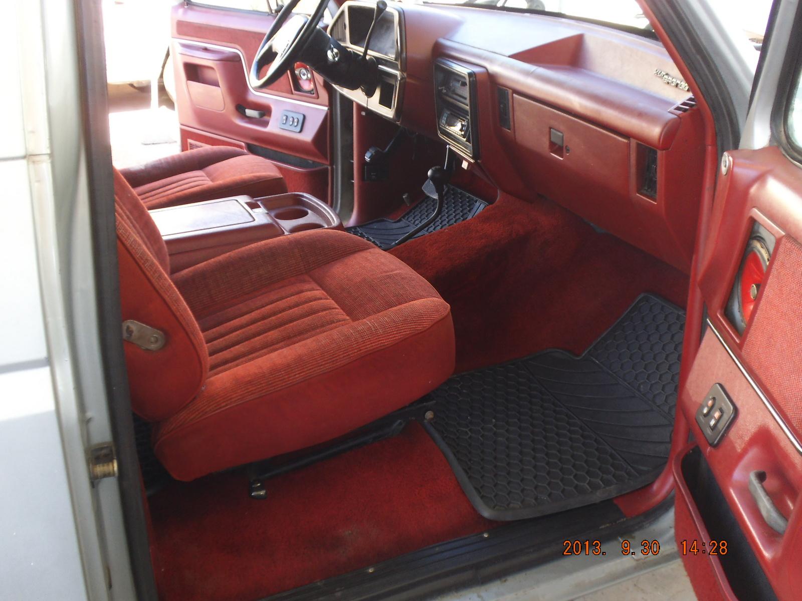 1988 Ford Bronco - Interior Pictures - CarGurus