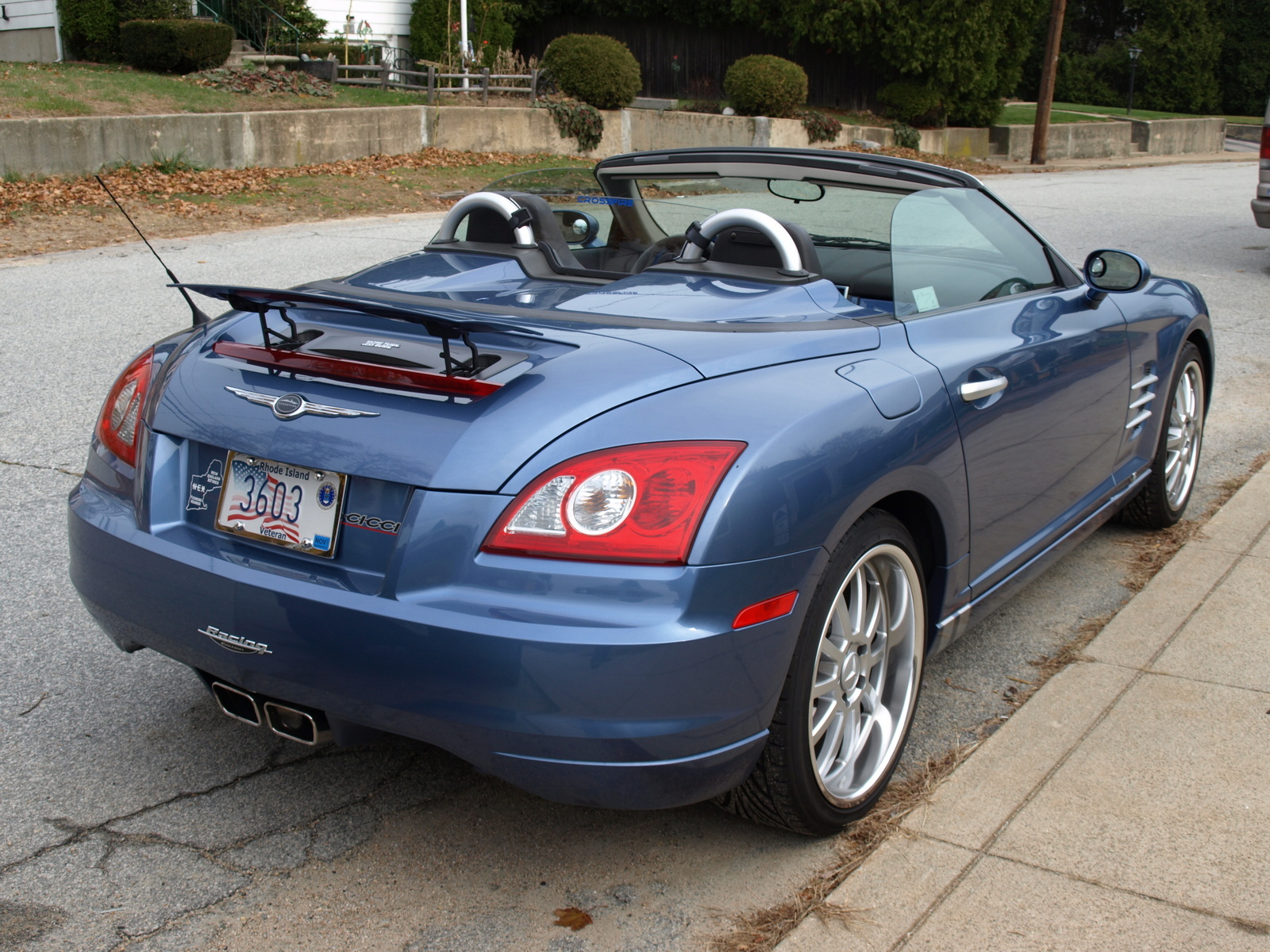 chrysler pin roadster convertible crossfire srt