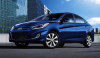 2014 Hyundai Accent, Front-quarter view, exterior, manufacturer