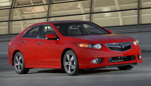 2014 Acura TSX, Front-quarter view, exterior, manufacturer
