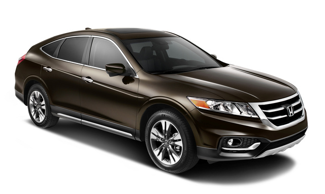 2014 Honda Crosstour, Front-quarter view, exterior, manufacturer, gallery_worthy