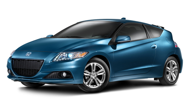 2014 Honda CR-Z, Front-quarter view, exterior, manufacturer, gallery_worthy