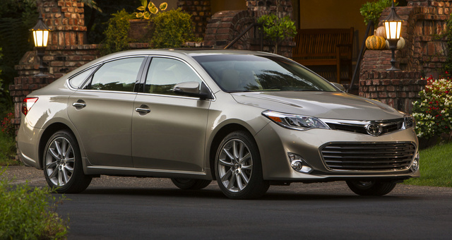 2014 Toyota Avalon, Front-quarter view, exterior, manufacturer, gallery_worthy