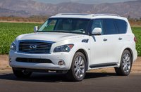 2014 INFINITI QX80, Front-quarter view, exterior, manufacturer, gallery_worthy