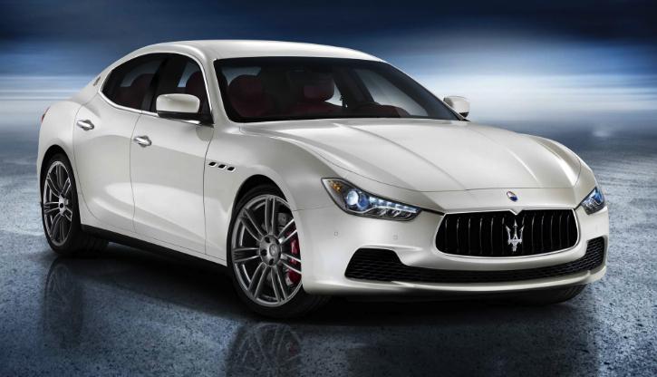 2014 Maserati Ghibli, Front-quarter view, exterior, manufacturer