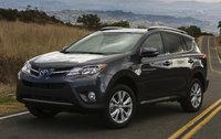 2014 Toyota RAV4, Front-quarter view, exterior, manufacturer