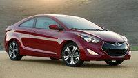 2014 Hyundai Elantra Coupe, Front-quarter view, exterior, manufacturer