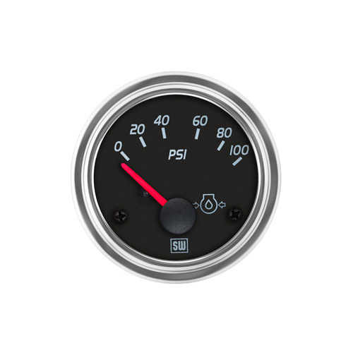 Chevrolet Silverado 1500 Questions - my oil pressure gauge