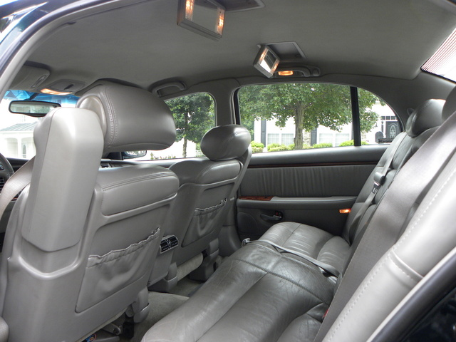 Picture of 1999 Buick Park Avenue 4 Dr Ultra Supercharged Sedan, interior
