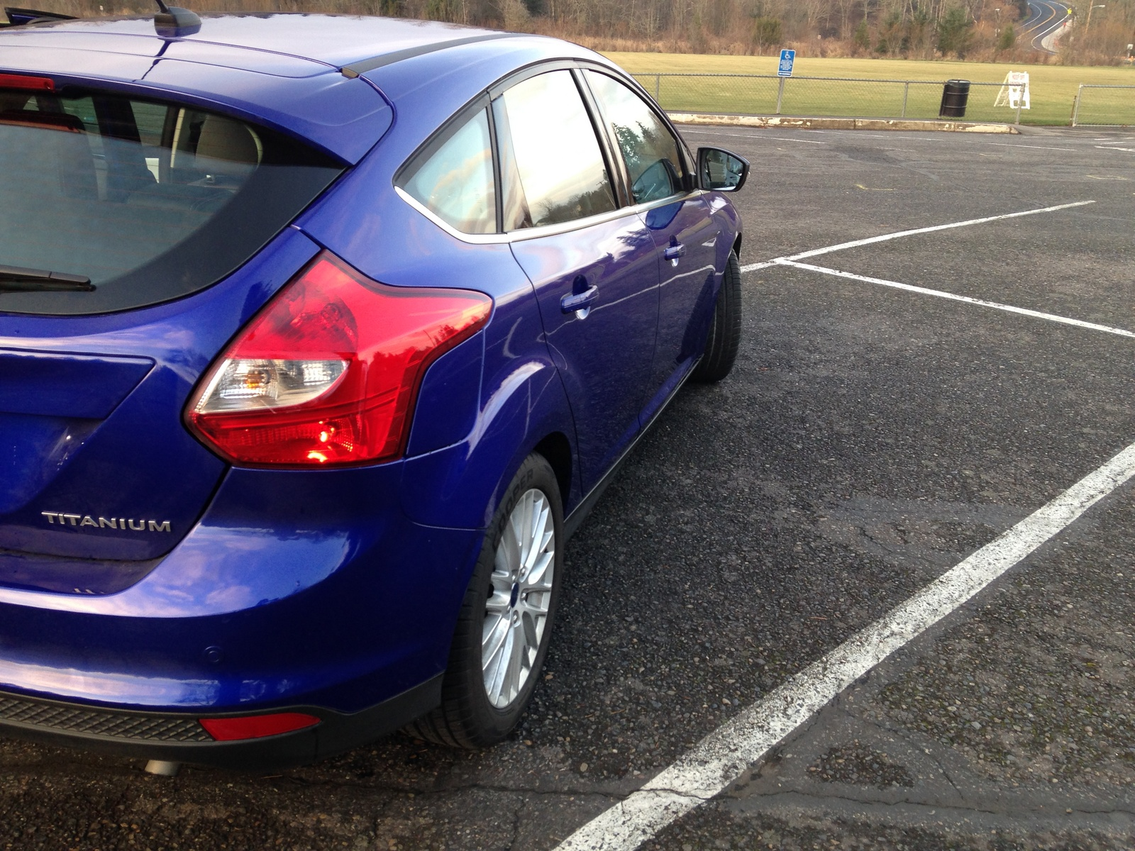 picture of 2014 ford focus titanium hatchback exterior. Cars Review. Best American Auto & Cars Review
