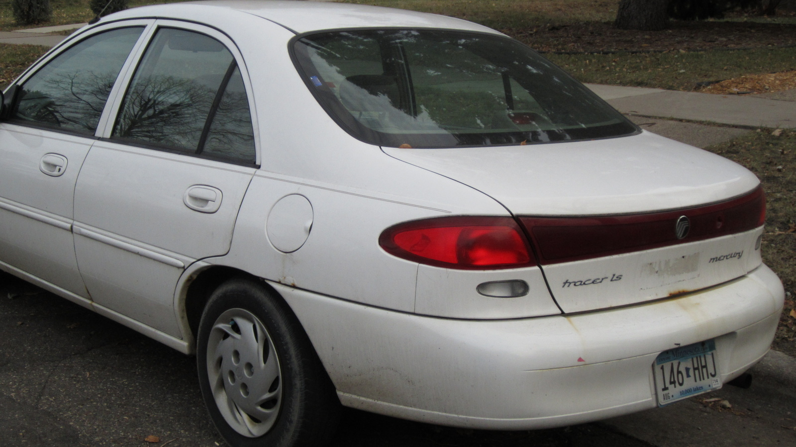 Picture of 1998 Mercury Tracer 4 Dr LS Sedan