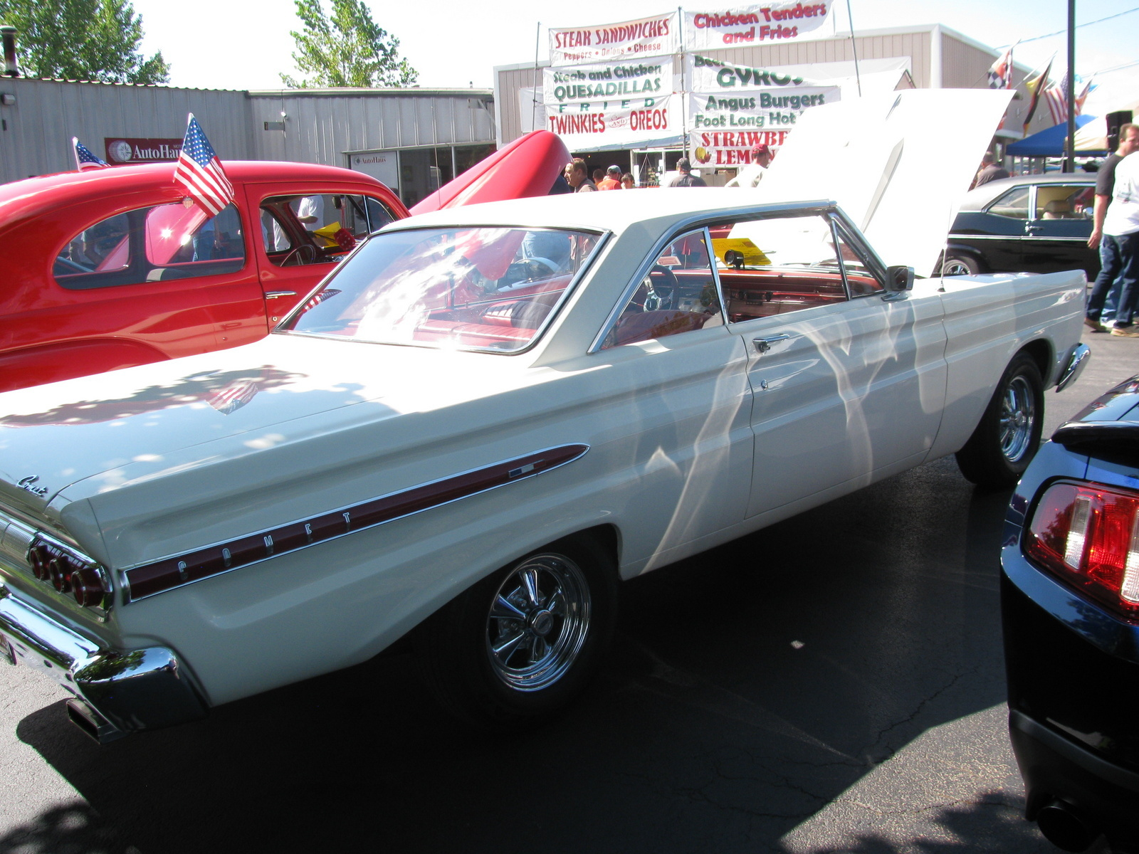 Mercury Comet Questions - what the biggest tire and rim , i
