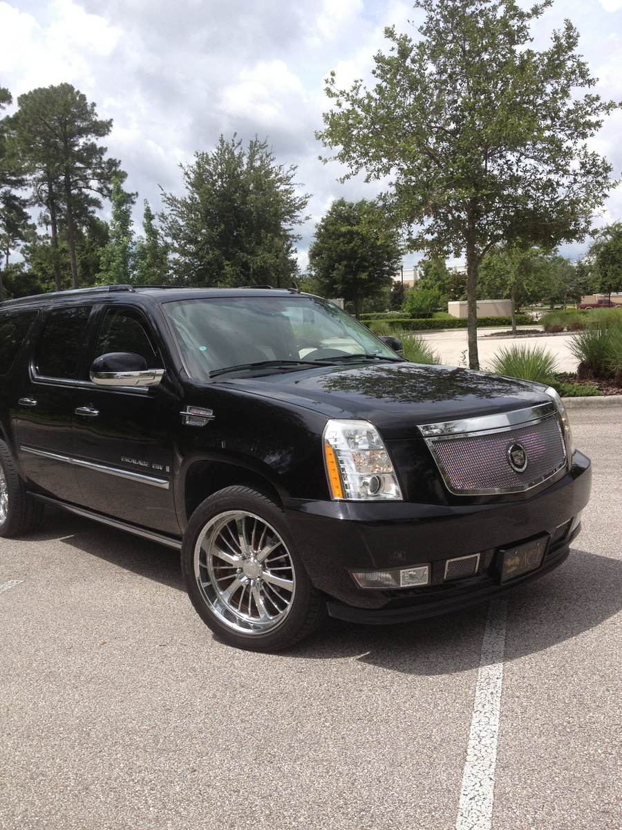 2007 cadillac escalade esv v8 awd picture exterior. Cars Review. Best American Auto & Cars Review