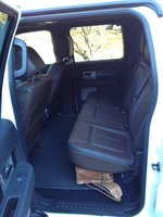 Picture of 2012 Ford F-150 Platinum SuperCrew 5.5ft. Bed 4WD, interior