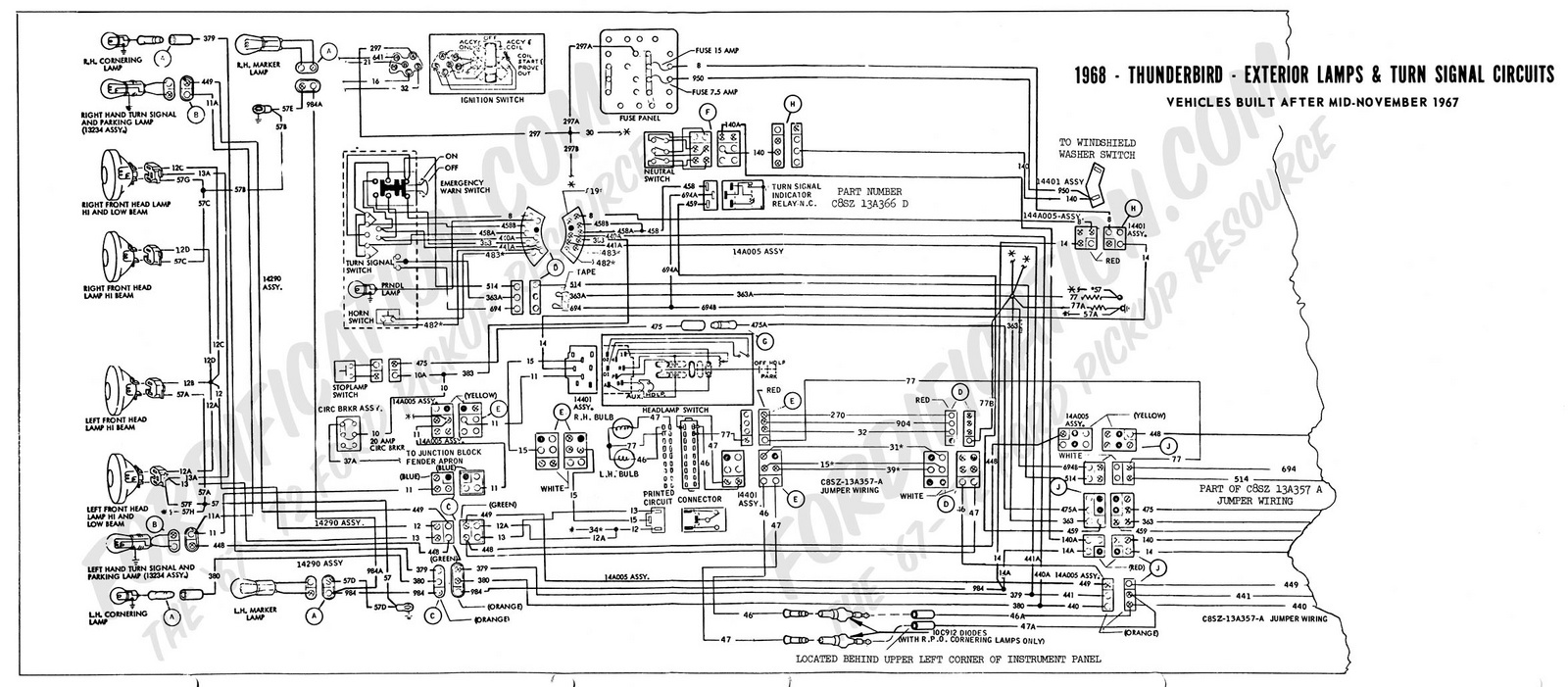 1964 ford ranchero fuse box diagram 1964 ford fairlane fuse box wiring diagram for 1961 ford falcon html #7