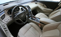 2014 Buick LaCrosse front seat, interior