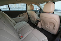 2014 Buick LaCrosse rear seat, safety, interior