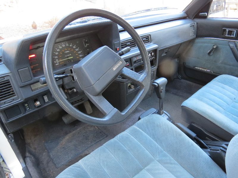 1987 Toyota Camry Deluxe For Sale Boulder, Colorado  |1987 Toyota Camry Interior