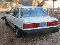 1985 Toyota Camry LE, Rear left, exterior