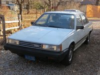 1985 Toyota Camry LE, Front left, exterior