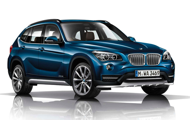 2014 BMW X1, Front-quarter view, exterior, manufacturer, gallery_worthy