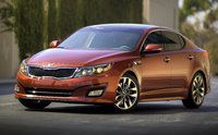 2014 Kia Optima, Front-quarter view, exterior, manufacturer