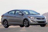 2014 Hyundai Elantra, Front-quarter view, exterior, manufacturer