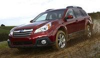 2014 Subaru Outback, Front-quarter view, exterior, manufacturer