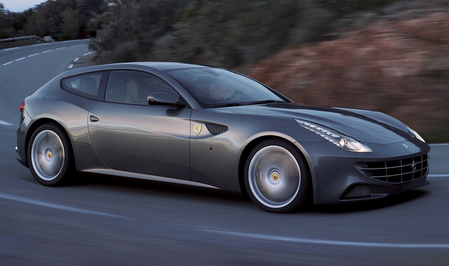 2014 Ferrari FF, Front-quarter view, exterior, manufacturer, gallery_worthy
