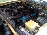 1975 Dodge Charger, Engine pic old Much more aftermarket clean look now, only 105900 original miles