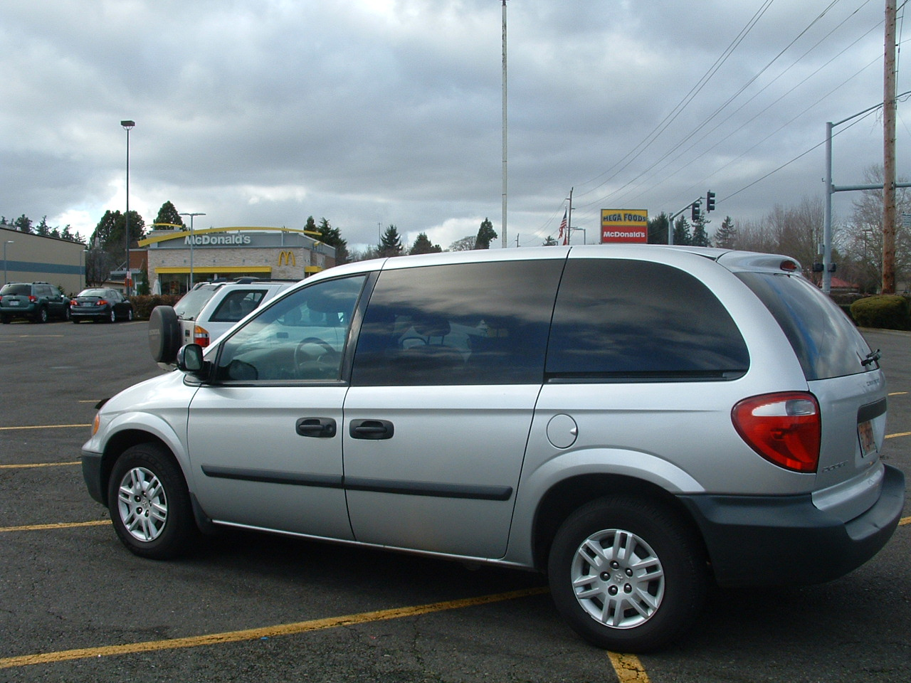 picture of 2006 dodge caravan se exterior. Cars Review. Best American Auto & Cars Review