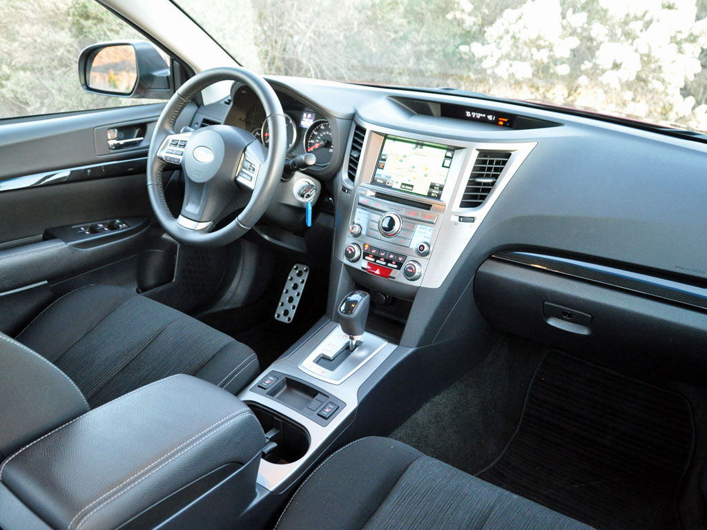 2014 Subaru Legacy 2.5i Sport, interior, form_and_function