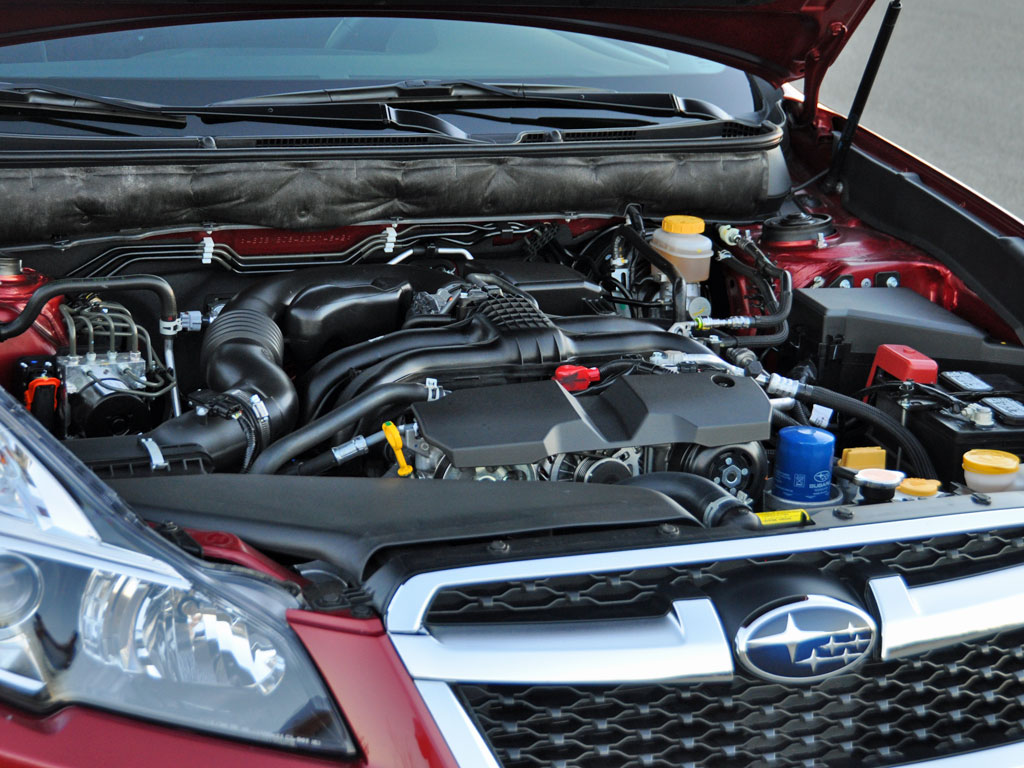 2014 Subaru Legacy 2.5i Sport, 2014 Subaru Legacy 2.5i 4-cylinder engine, engine