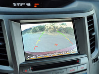 2014 Subaru Legacy 2.5i Sport reversing camera display, interior