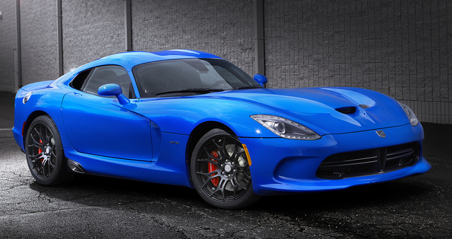 2014 SRT Viper, Front-quarter view, exterior, manufacturer, gallery_worthy