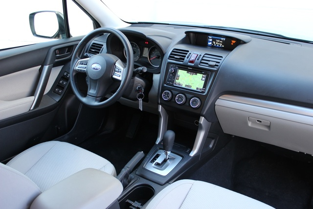 Interior of the 2014 Subaru Forester, interior