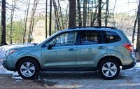 Side view of the 2014 Subaru Forester, exterior