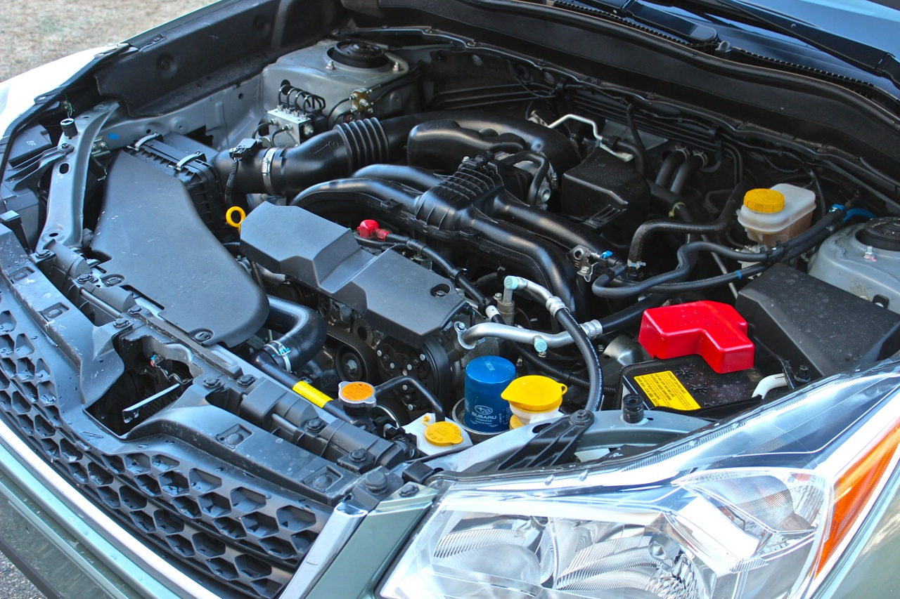 Engine of the 2014 Subaru Forester, engine