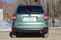 Rear view of the 2014 Subaru Forester, exterior