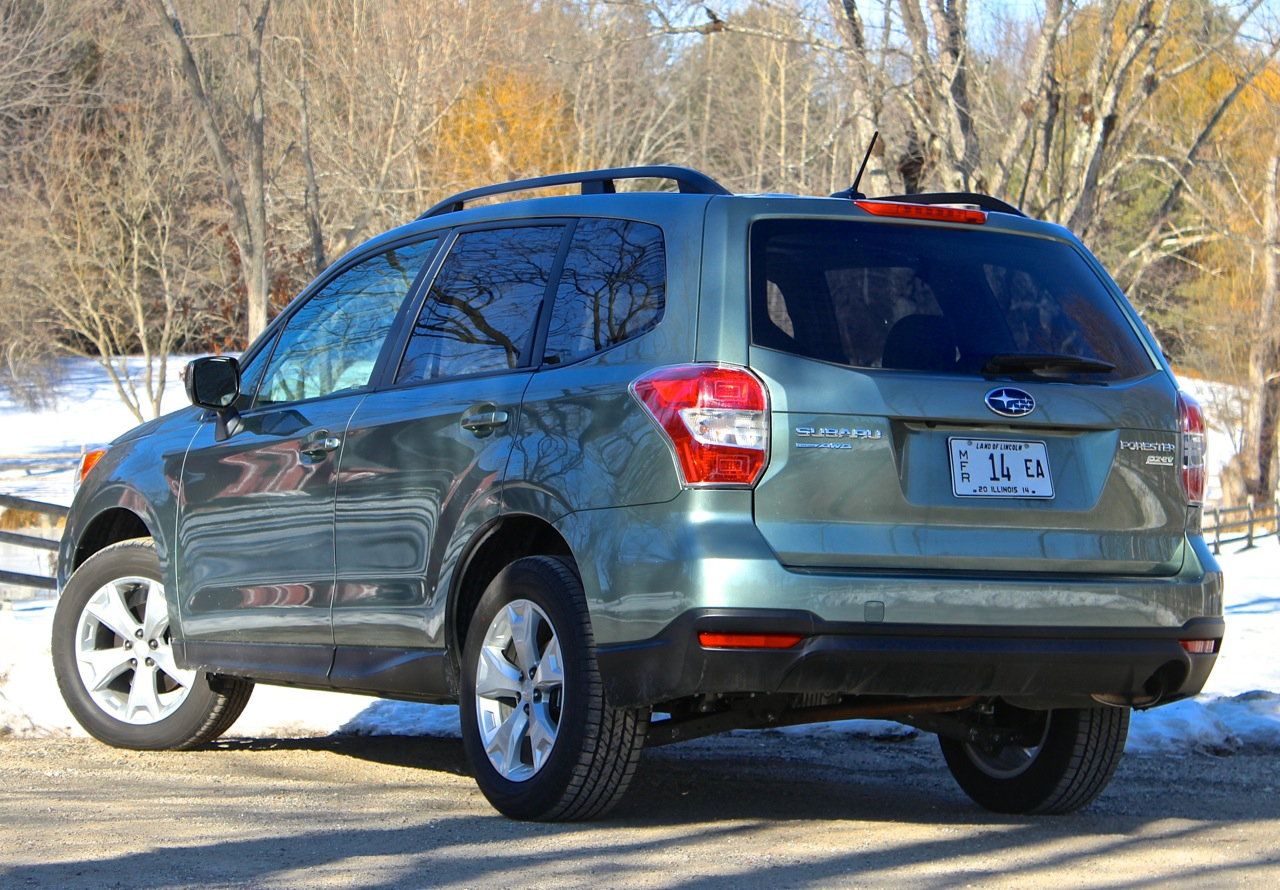 Rear 3/4 of the 2014 Subaru Forester