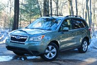 Front 3/4 of the 2014 Subaru Forester, lead_in, exterior