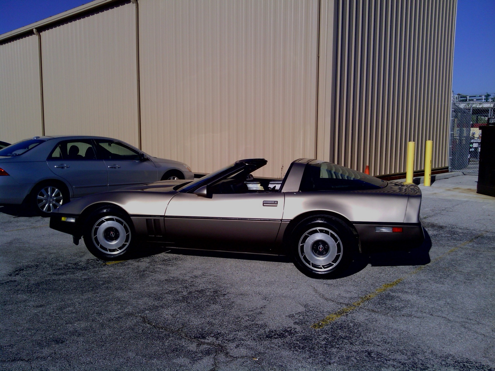 1984 Chevrolet Corvette Coupe, great old classic., exterior