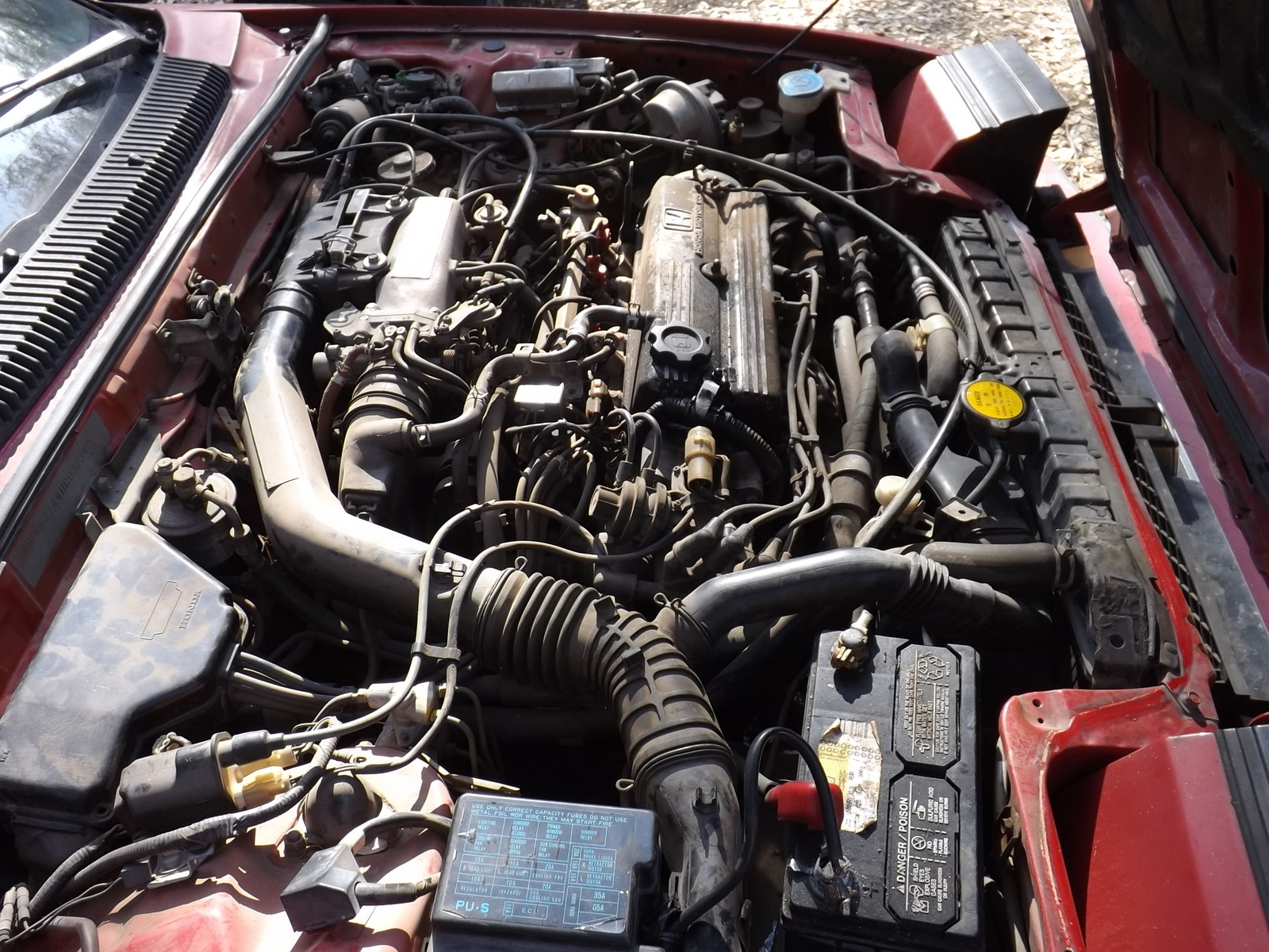 Got a 87 honda prelude si engines hesitates bad on slight load up hill and  wont rev past 2000 rpms changed spark plugs and fuel filter and now wont  even ...