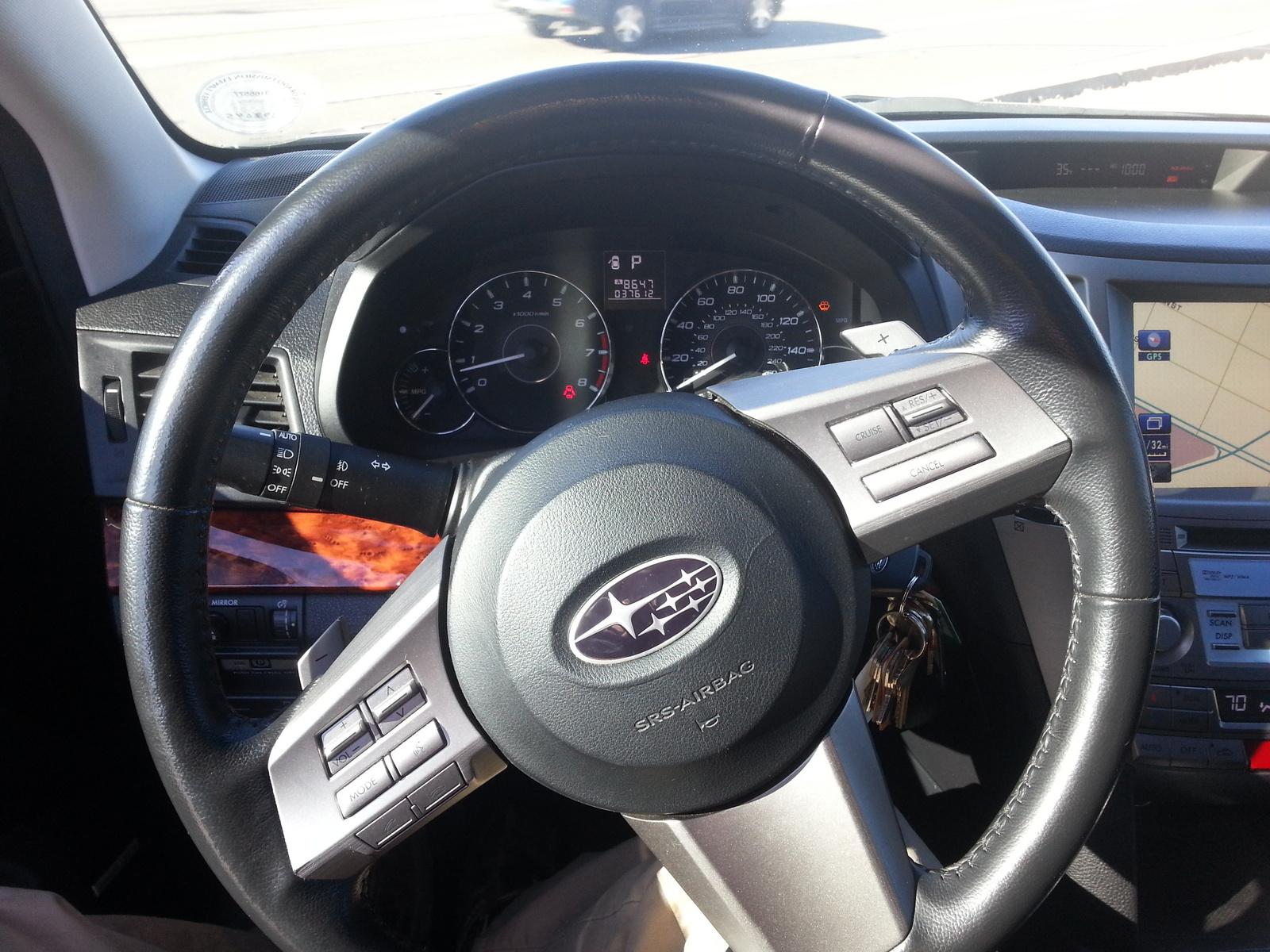Subaru Legacy 3.6 R >> 2011 Subaru Outback - Interior Pictures - CarGurus