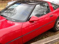 1985 Chevrolet Corvette Coupe, 1985 Chevrolet Corvette Base picture, exterior