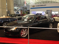 2014 Maserati Quattroporte, Front-quarter view at the New England International Auto Show, exterior, manufacturer, gallery_worthy