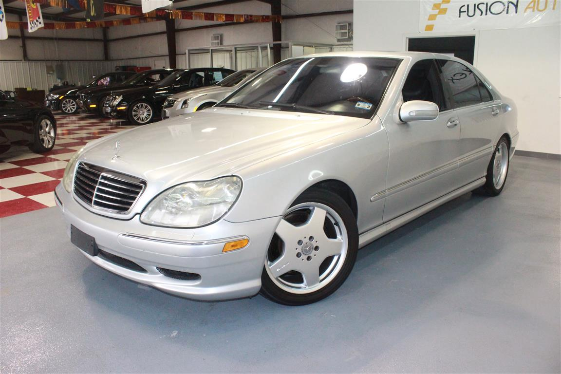 2002 mercedes benz s class 4 dr s55 amg sedan for sale. Black Bedroom Furniture Sets. Home Design Ideas