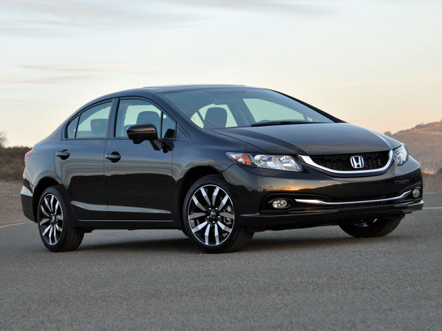 2014 Honda Civic EX-L Sedan, exterior, gallery_worthy