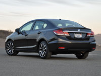 2014 Honda Civic EX-L Sedan, exterior, look_and_feel